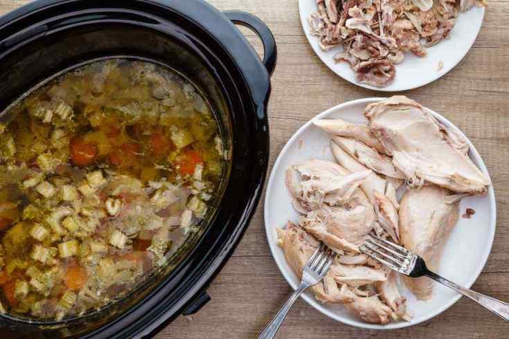 Crockpot Paleo Chicken Soup