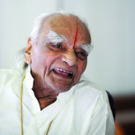 Interviews with BKS Iyengar, 94 year old yoga guru