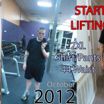 Success story: Guy loses 105 kgs and regains his youth