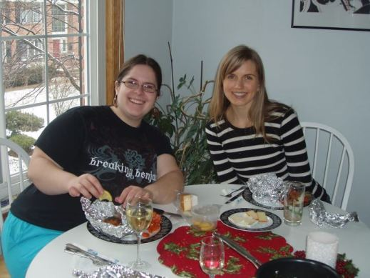 A tasty homemade lunch with my friend, Katie. Lunch was compliments of my sister, Amanda.