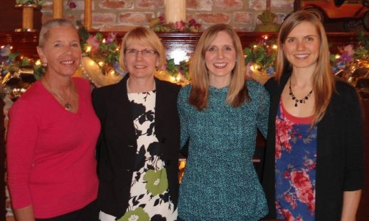 About 5-1/2 months in on the SCD. I'm on the far right and pictured (from left) with my Aunt Penny, mom, and sister, Ashley.