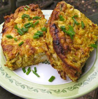 Chicken Curry Egg Bake