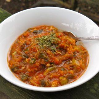 Chicken Spaghetti Soup