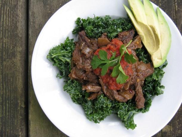 Taco Kale Salad