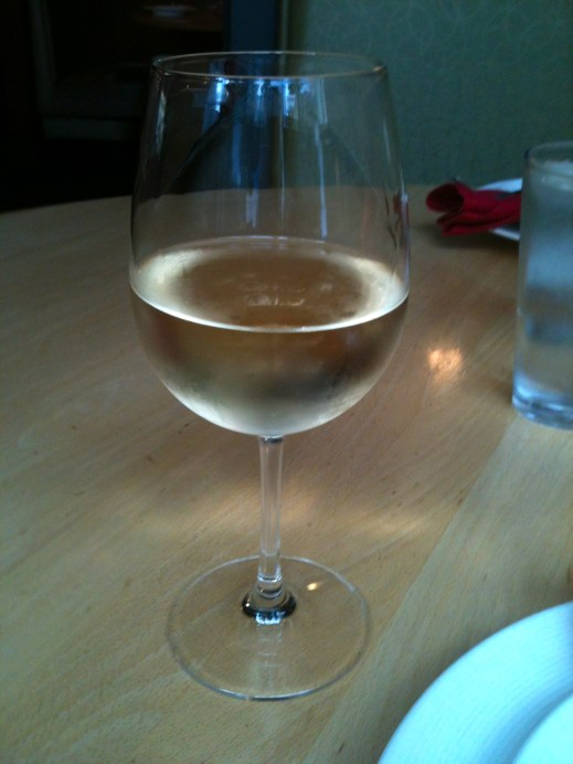 This Pinot Gris from Montinore Estate in the Willamette Valley was out of this world. Jesse had it too and agreed. (Taken on iPhone).