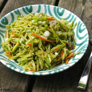 Summer Broccoli Slaw Salad