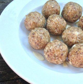 Salted almond bites