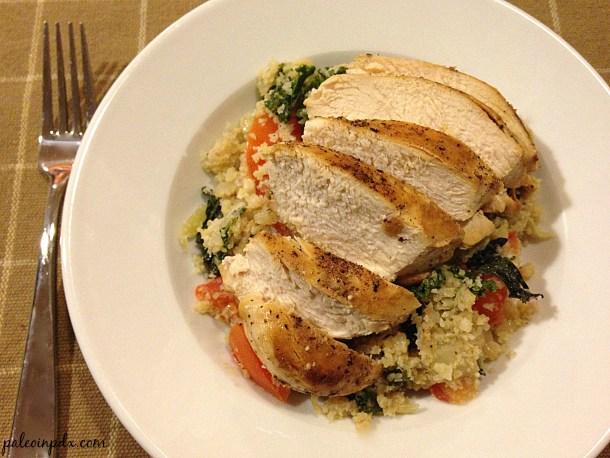 Chicken and Italian cauli rice