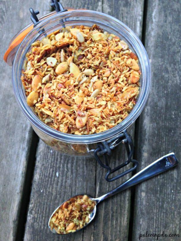turmeric spice granola 2