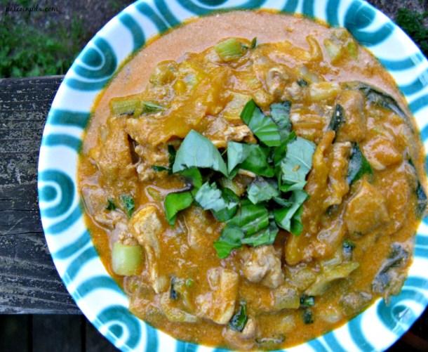 mango chicken curry 2