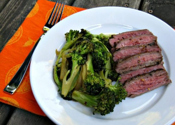 seared flank steak