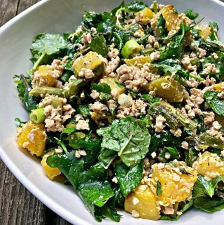 "Summer ""Grain"" Salad with Lemon Tahini Dressing"
