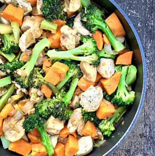 Citrus Herb Chicken & Veggie Bowl