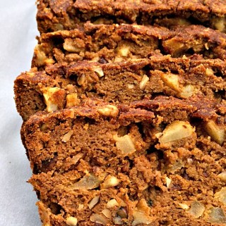 Grain-Free Chunky Apple Pumpkin Bread