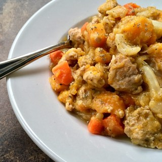 Turkey Butternut Squash Stew