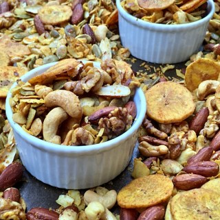 Oven-Baked Grain-Free Party Mix