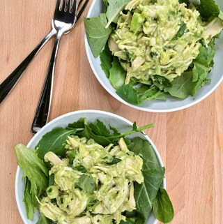 Mighty Green Chicken Salad