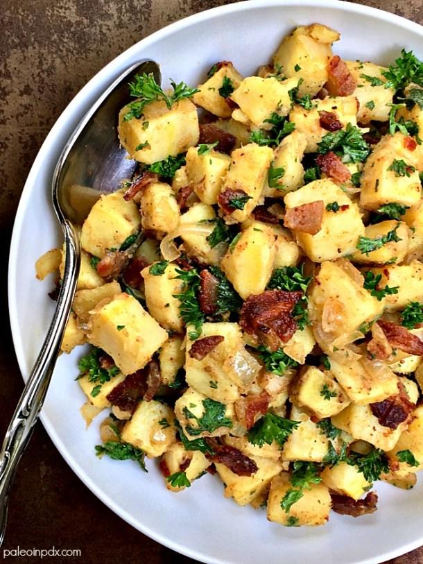German sweet potato salad