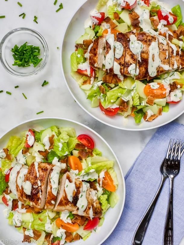 Chicken BLT Salad Bowl