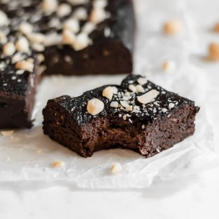 Macadamia Nut Pumpkin Brownies