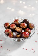 Gingerbread almond butter buckeyes