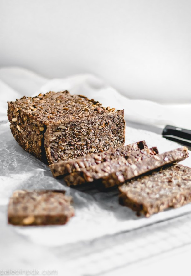 The easiest grain-free seeded bread