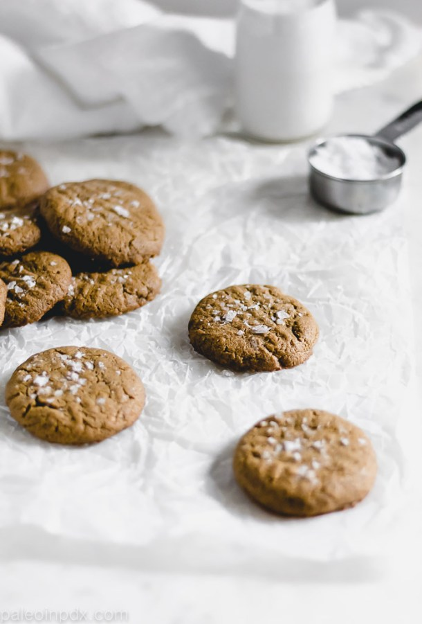 1-bowl grain-free sunbutter cookies