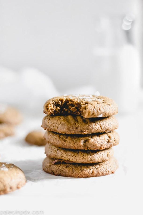 1-bowl grain-free sunbutter cookies