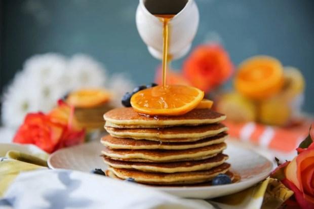 PaleOMG Blueberry Orange Pancakes