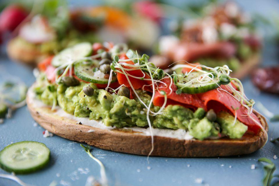 avocado toast three ways