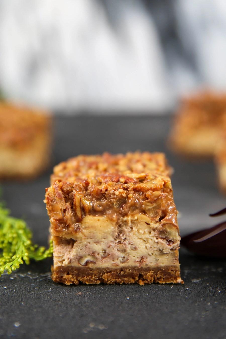 PaleOMG Pecan Pie Cheesecake