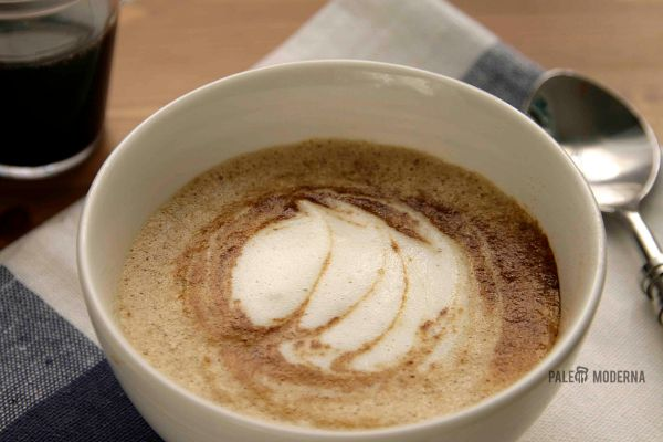 Sabayón de café a la miel (sin azúcar)