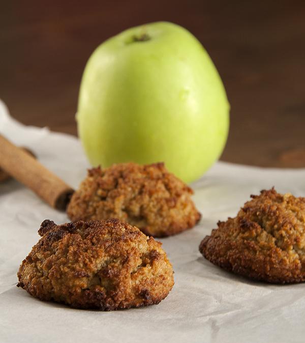 bizcochitos manzana paleo