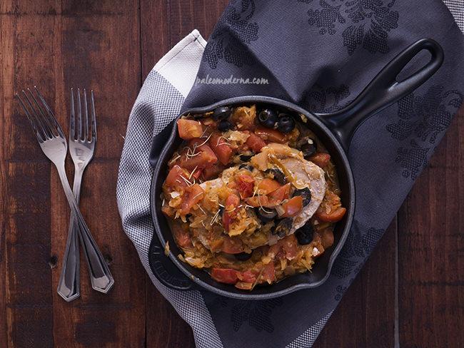 receta dieta paleo con atún