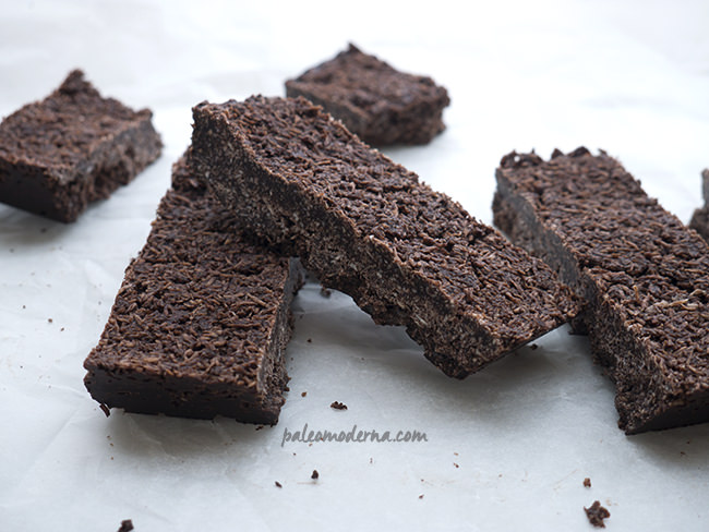 barritas paleo chocolate y coco
