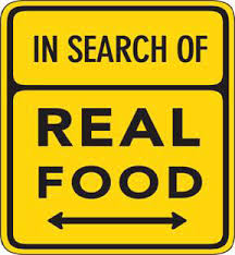 in search of real food