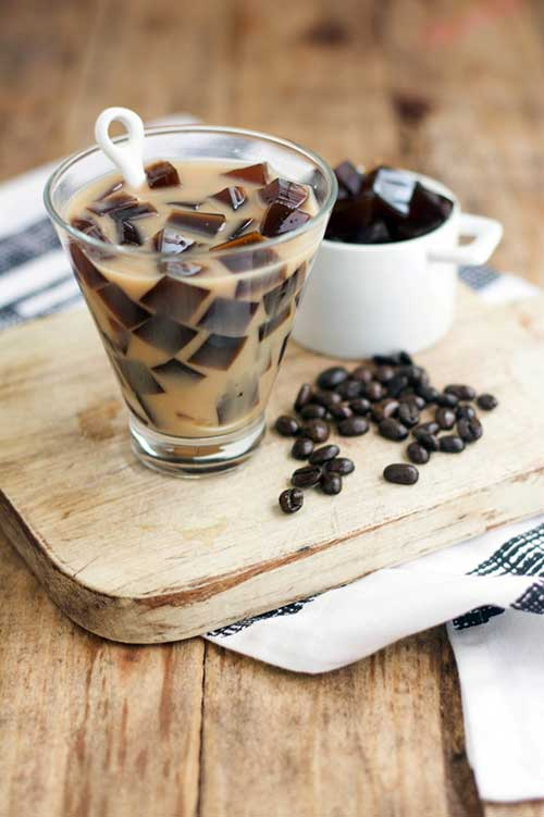 Paleo Foodie Kitchen – COFFEE JELLY ALMOND MILK TEA