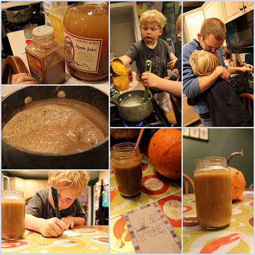 "Paleo Parents – A KID FRIENDLY PUMPKIN CIDER ""LATTE"""