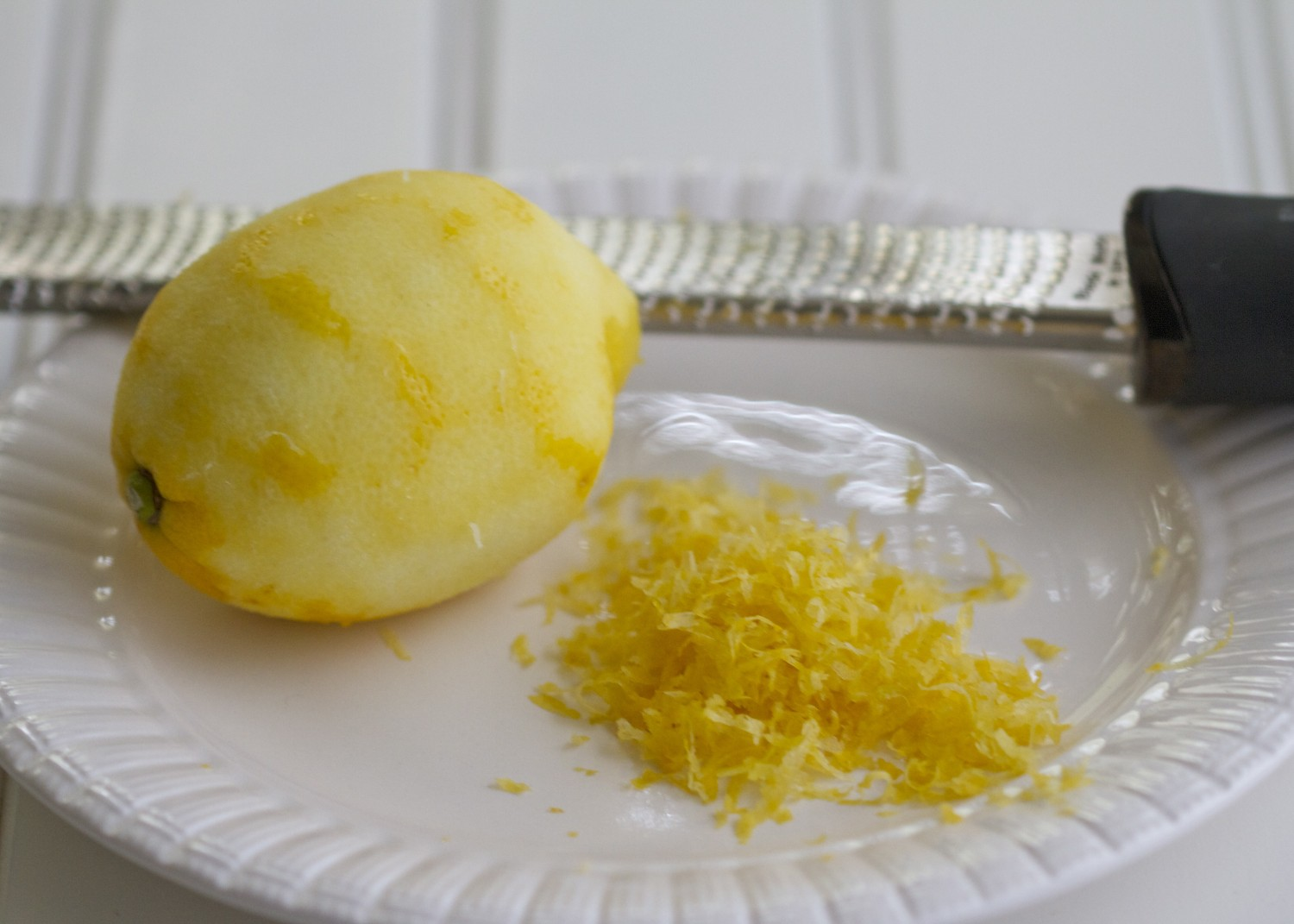 Grated Zest 1 Lemon