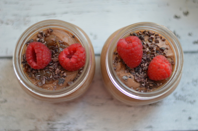 Chia Chocolate Avocado Paleo Mousse