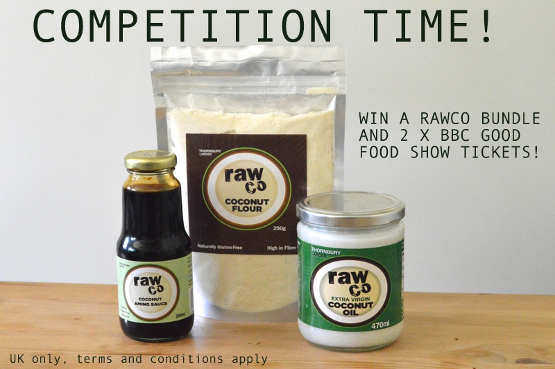 Paleo with mrs p giveaway paleowithsp one lucky uk reader the chance to win a rawco coconut bundle plus 2 tickets to the bbc good food show summer in the city which rawco will be at forumfinder Image collections