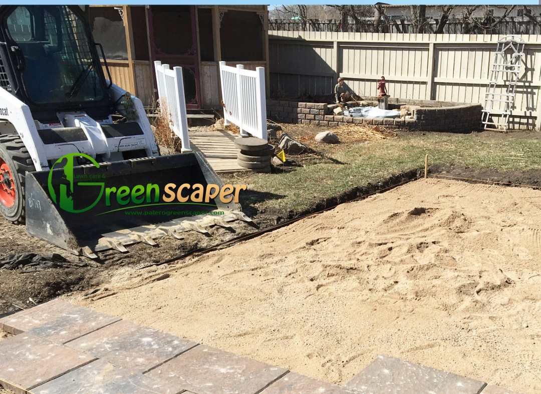 backyard landscaping service near Regina