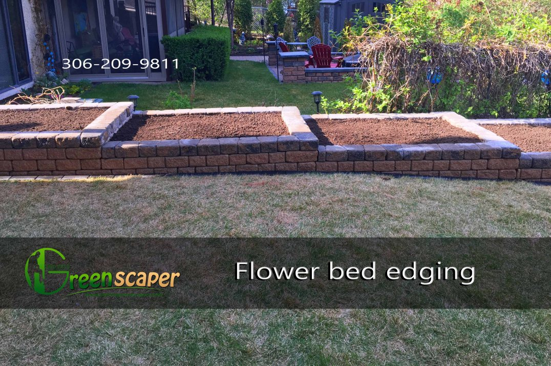 Flower Bed Edging Regina