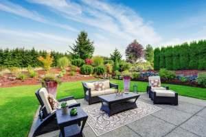 Residential landscape service