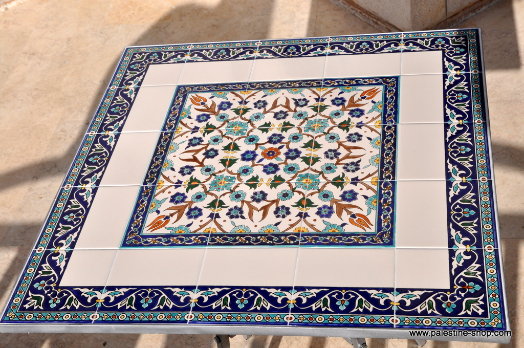 kitchen hand soap hotel rooms with kitchens materials & supplies :: painted ceramic tiles table ...