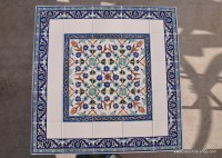 Materials & Supplies :: Hand painted ceramic tiles Table ...