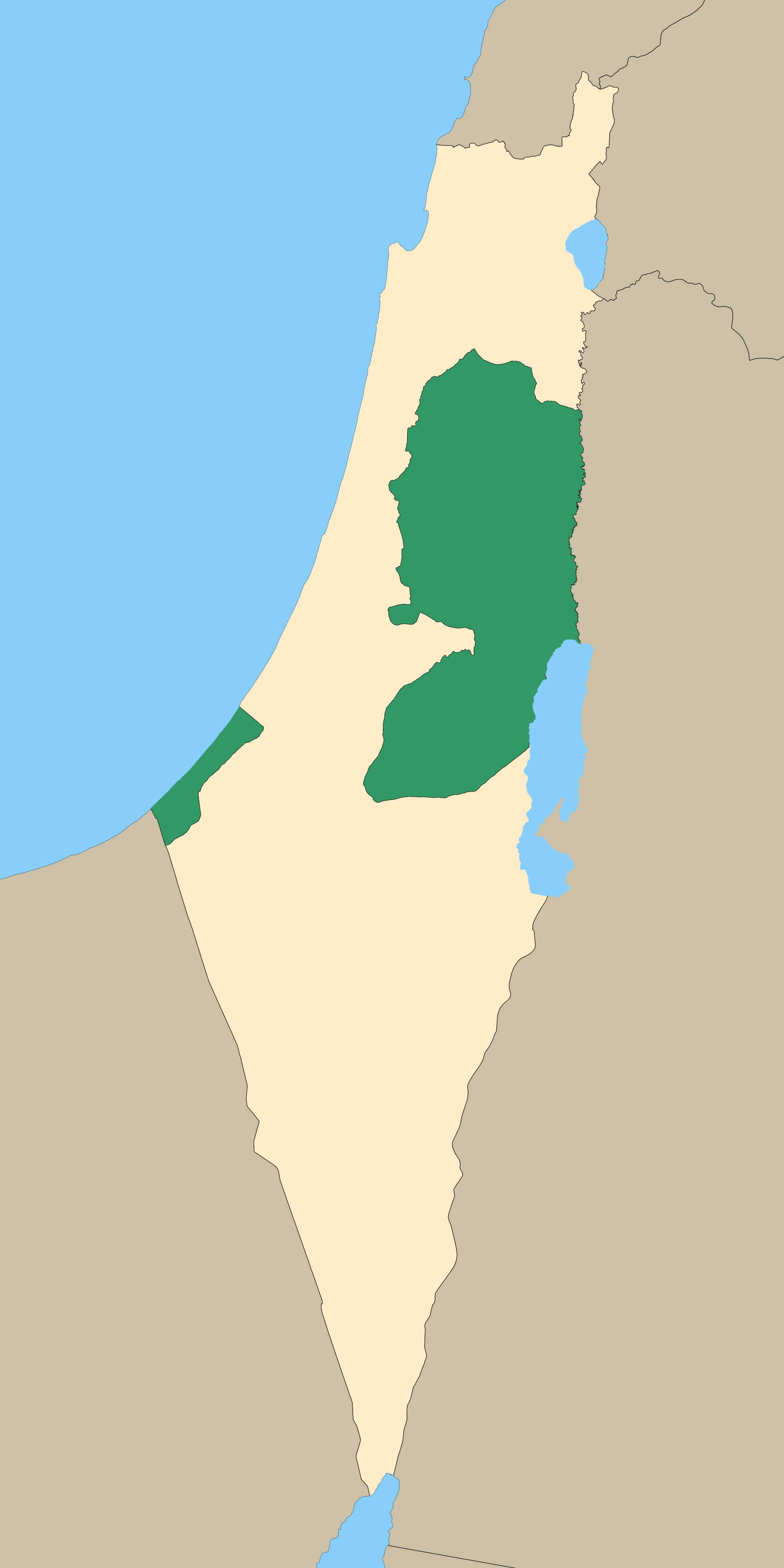 Maps  Palestine Teaching Trunk