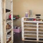 decoracion-estanteria, muebles con palets