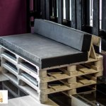 decoracion-sofa, muebles con palets