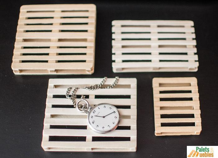 Palets en miniatura a escala palets y muebles - Muebles 1 click madrid ...